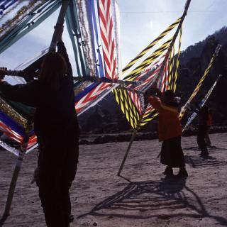 Geisterfallen in Khumjung