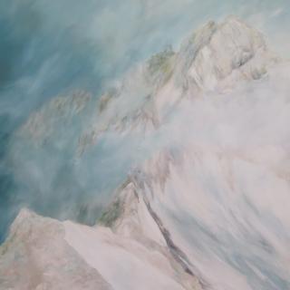 Nebelstimmung Zugspitze