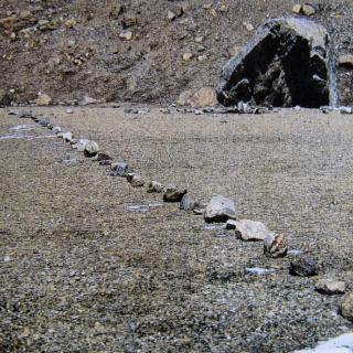 Steinlinie Tibet